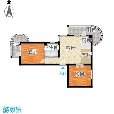 山海同湾102.48㎡22-26号楼户型10室