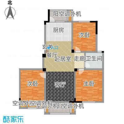 御景豪庭130.00㎡40#J户型3室2厅1卫