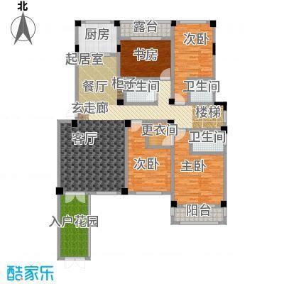 锦尚天华户型4室3卫1厨
