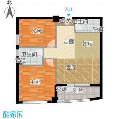 万马滨河城1919万马滨河城户型2室1厅2卫