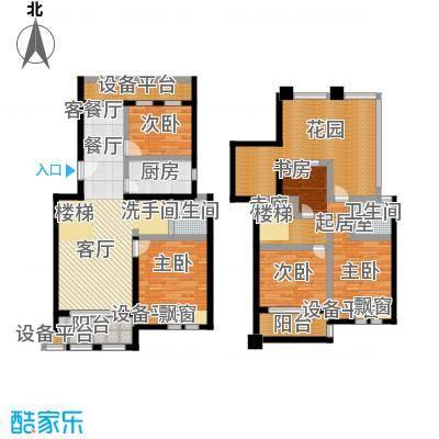 叶与城户型3室1厅2卫1厨