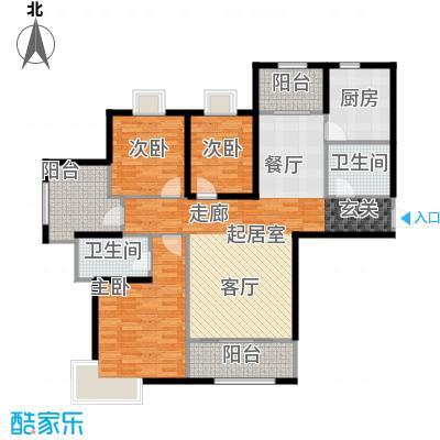 金屋秦皇半岛8区6、7、11楼户型