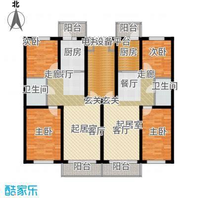 联通名苑H1建筑面积90平方米,H2建筑面积84.24平方米户型2室1厅1卫