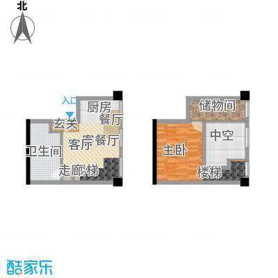天津科技广场S4户型