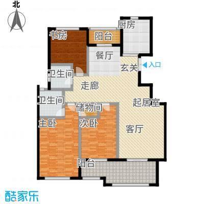 君悦・东湖公馆-T户型3室2卫1厨