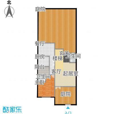 荆溪人家271.56㎡联排南入B一楼户型10室