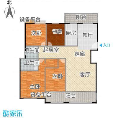 金鼎湾国际182.00㎡D户型4室2厅2卫