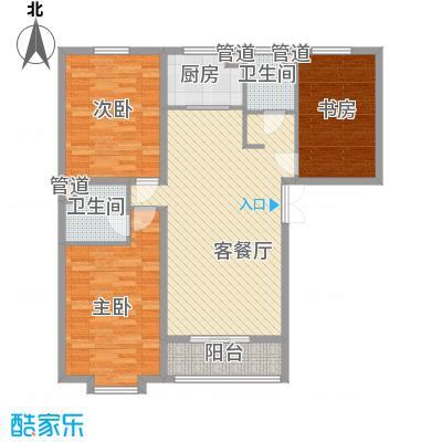 金舍博贤院139.17㎡3室2厅2卫