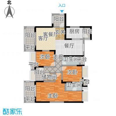 保利国际城保利国际城户型图户型4室2厅2卫