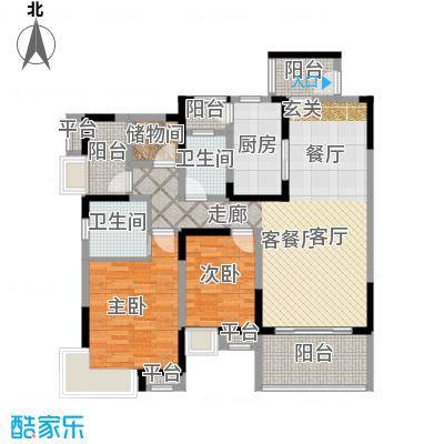 保利国际城保利国际城户型图户型3室2厅2卫