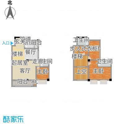 长安未来国际207.56㎡K户型4室3厅3卫