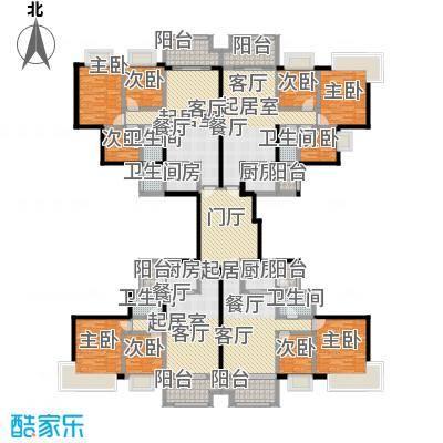 中澳丽珠花园302.78㎡户型9室5卫4厨