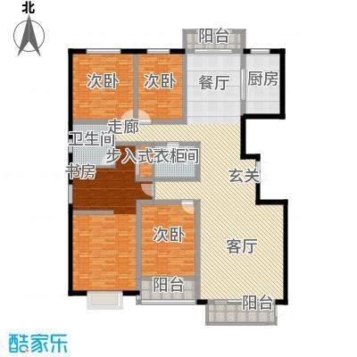 燕大星苑红树湾229.91㎡G12户型4室2厅2卫