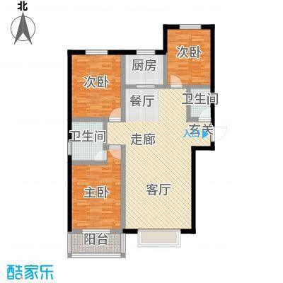 燕大星苑红树湾户型3室1厅2卫1厨