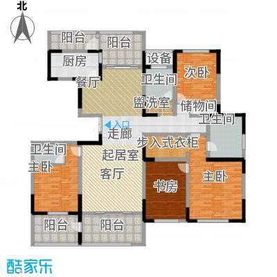 苏建名都城苏建名都城 户型图 G6户型四室两厅三卫 约220㎡赠送一半面积户型