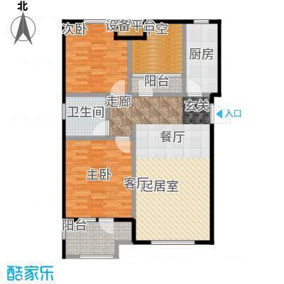 社会山201492.00㎡C1户型2室2厅1卫