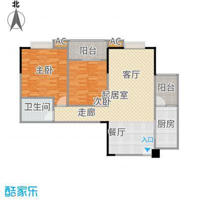 top尚城top尚城户型图户型2室2厅1卫