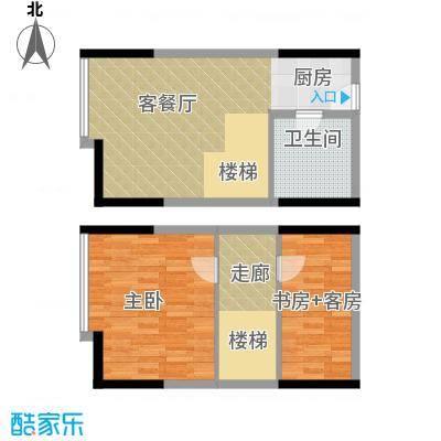 御东雅苑73.05㎡B2公寓户型1室1厅1卫