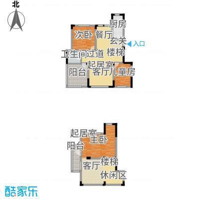 金地滟澜山95.71㎡100#户型3室1厅1卫