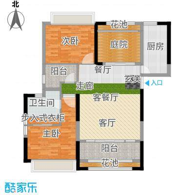 香榭一品113.09㎡3号楼D3户型3室2厅1卫X