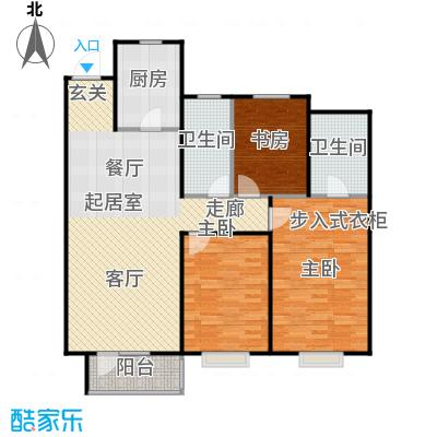 华润凯旋门139.00㎡华润凯旋门三室两厅两卫户型139平米户型3室2厅2卫