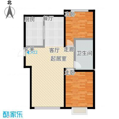 博恩御山水76.00㎡小高层户型10室
