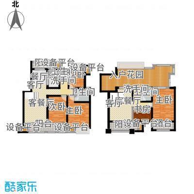 叶与城户型5室2厅3卫1厨