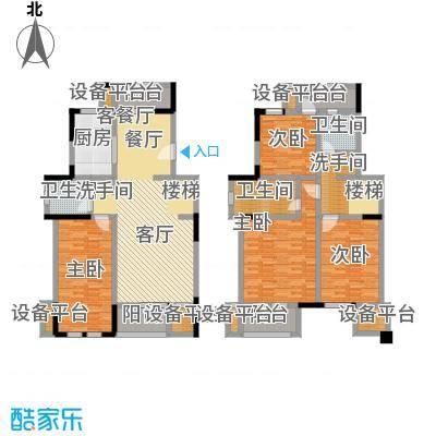 叶与城户型4室1厅3卫1厨