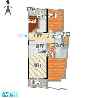 华侨城华寓高级行政套房户型3室2卫1厨