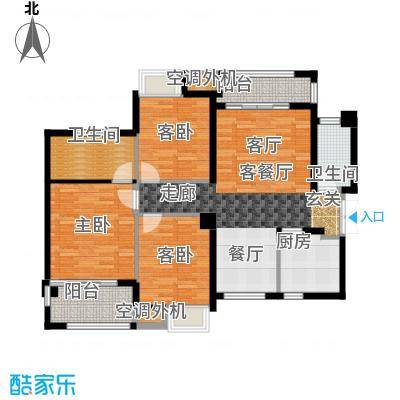 阳光城丽兹公馆户型3室1厅2卫1厨