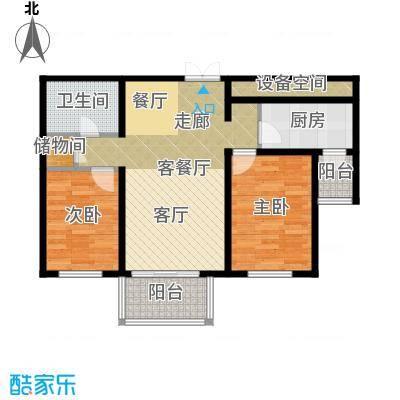 SK新城75.23㎡户型10室