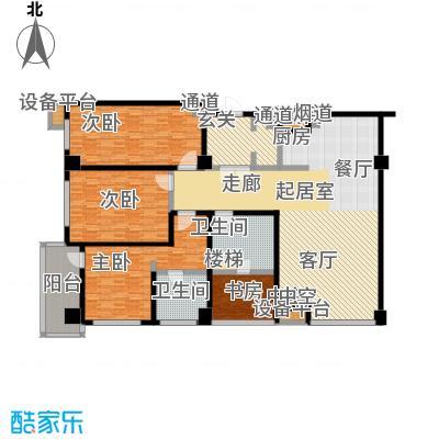 江户城户型4室2卫