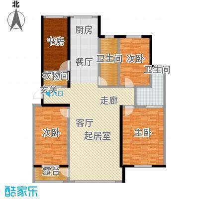 绿江太湖城金色水岸154.06㎡E户型4室2厅