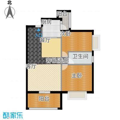 欣荣宏国际商贸城E户型2室1厅1卫1厨