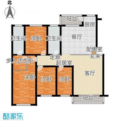 东润豪景201.93㎡5号楼201.93平米户型4室2厅2卫