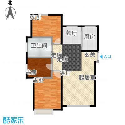 博恩御山水98.76㎡小高层户型10室