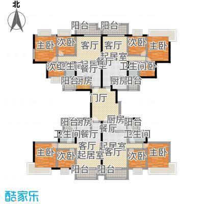 中澳丽珠花园310.31㎡户型9室4卫4厨