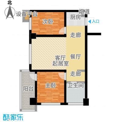 江户城户型2室1卫