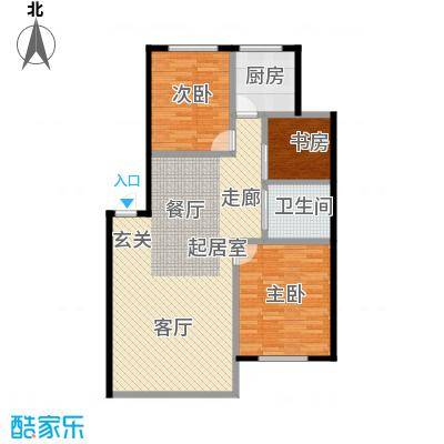 绿江太湖城黄金水岸92.00㎡92户型3室2厅1卫