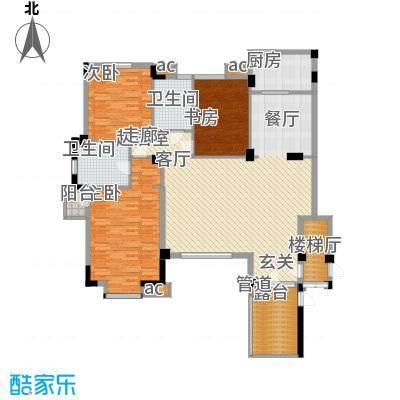 万科沈抚新城金域蓝湾144.00㎡洋房 144平米 三室两厅两卫户型3室2厅2卫