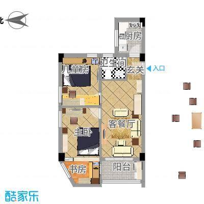 东河苑小区--改造方案2