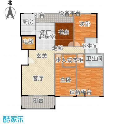 金鼎湾国际184.00㎡G户型4室2厅2卫