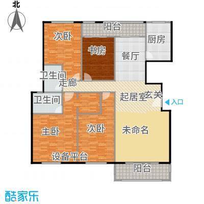 金鼎湾国际184.00㎡E户型4室2厅2卫