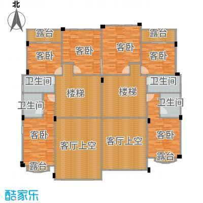 大旺・海印又一城410.00㎡B户型(双拼)户型