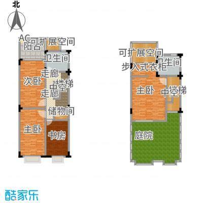凤凰谷4房2厅2建筑面积191.05m2共68套户型LL