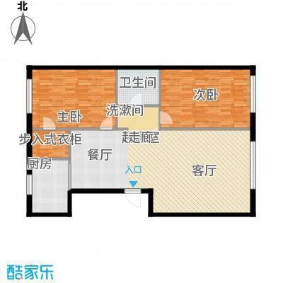 博奥国际116.26㎡博奥国际D面积116.26平户型2室2厅1卫