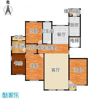 水韵豪庭水韵豪庭标准层E户型图3室2厅2卫户型3室2厅2卫