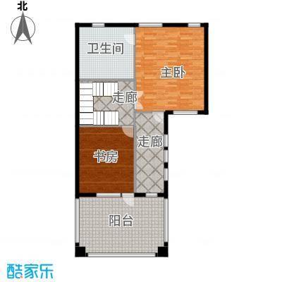 曲江公馆和园105.39㎡项目别墅C3层户型10室