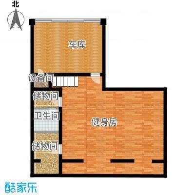 曲江公馆和园115.91㎡项目别墅A负一层户型10室