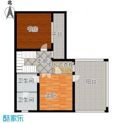 曲江公馆和园103.12㎡项目别墅A3层户型10室